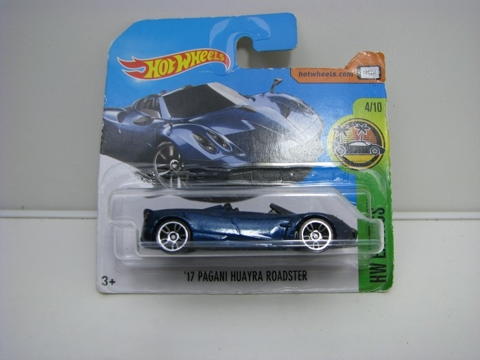 Pagani Huayra Roadster Blue Hot Wheels Exotics-2017